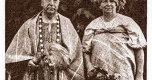Dr and Mrs George Green