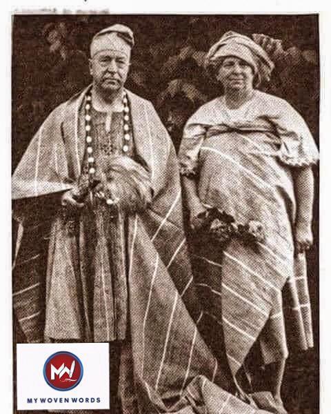 THE ARRIVAL OF DR. AND MRS GEORGE GREEN IN ÒGBÓMÒSÓ
