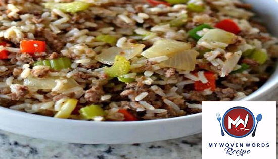 dirty rice - woven recipe